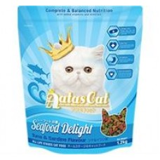 Aatas Cat Adult Catfood Seafood Delight Tuna & Sardine 1.2kg