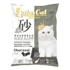 Aatas Cat Kuick Klump Bentonite Cat Litter Charcoal 10L ( 5pkt )