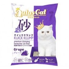 Aatas Cat Kuick Klump Bentonite Cat Litter Grape 10L ( 5PKT )