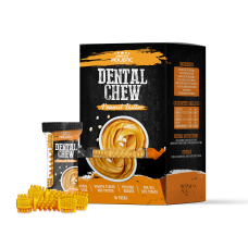 Absolute Holistic Dental Chew Peanut Butter 4""