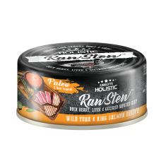 Absolute Holistic Raw Stew Duck Organs Wild Tuna & King Salmon Recipe 80g ( 24can )