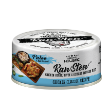 Absolute Holistic Raw Stew Chicken Organs Deboned Chicken Classic Recipe 80g