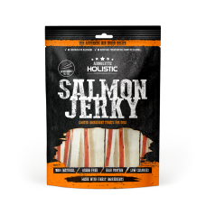 Absolute Holistic Bite Salmon Jerky Whitefish Sandwich 100g
