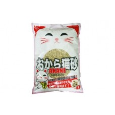 Akane Tofu Cat Litter (Double Hollow) 7L