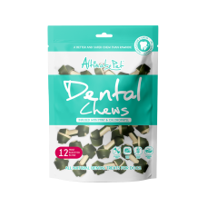 Altimate Pet Dental Chew Infused With Mint & Chlorophyll Knotted 12pc