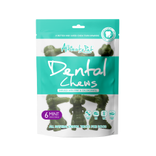 Altimate Pet Dental Chew Infused With Mint & Chlorophyll Crocodile 6pc