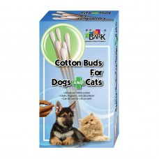 Bark Cotton Buds For Dogs And Cats (M) 50's