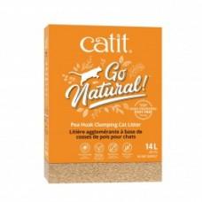 Catit Go Natural Pea Husk Clumping Cat Litter 14L 2x7L