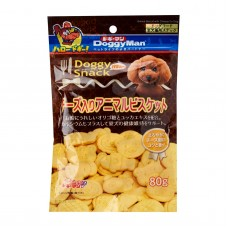 Doggyman Animal Biscuit With Cheese 80g