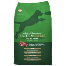 NutraGold Grain Free Duck & Sweet Potato 13.6kg