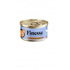 Finesse Grain-Free Tuna with Sea Bream in Jelly 85g