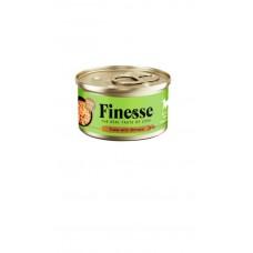 Finesse Grain-Free Tuna with Shirasu in Jelly 85g