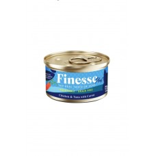 Finesse Plus Grain-Free Chicken and Tuna with Carrot (Healthy Vision & Growth) 85g