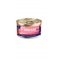 Finesse Plus Grain-Free Chicken and Tuna with Cranberry (Urinary Care) 85g