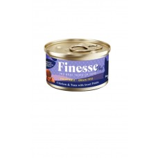Finesse Plus Grain-Free Chicken and Tuna with Sweet Potato (Digestive Care) 85g
