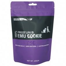 Freeze Dry Australia Freeze Dried Emu Cookie Dogs & Cats Treats 100g