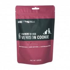 Freeze Dry Australia Freeze Dried Venison Cookie Dogs & Cats Treats 100g