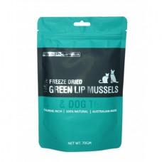 Freeze Dry Australia Freeze Dried Whole Green Lip Mussels Dogs & Cats Treats 70g