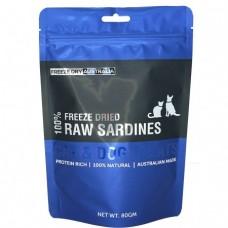 Freeze Dry Australia Freeze Dried Whole Sardines Dogs & Cats Treats 80g