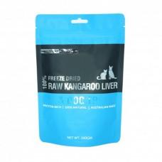 Freeze Dry Australia Freeze Dried Kangaroo Liver Dogs & Cats Treats 100g