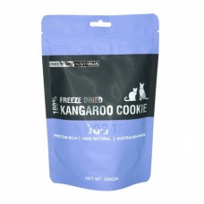 Freeze Dry Australia Freeze Dried Kangaroo Cookie Dogs & Cats Treats 100g