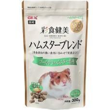 Gex Saishoku Kenbi Golden Hamster food 300g