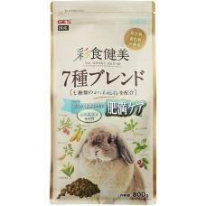 Gex Saishoku Kenbi 7 Blend Diet Care Rabbit 800g