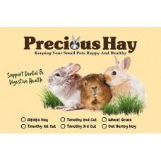 Precious Hay  3rd Cut Timothy 1kg (2box)