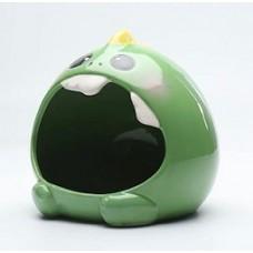 Dream Pet Ceramic Hide Out Green Monster L