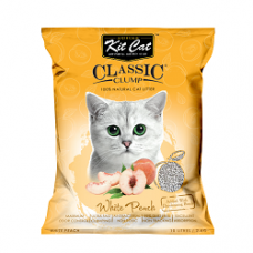 Kit Cat Classic Clump White Peach 10L