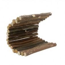 Living World Real Wood Log L