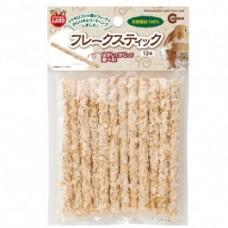Marukan Bamboo Stick with Corn Leaf Flakes 12pcs (MR852)