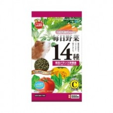 Marukan ML61 Diet Food For Guinea Pig W/ 14 Kind Of Vege 550G