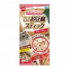 Marukan Freeze Dried Tofu Stick Fruit for Small Animals 12g