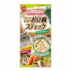 Marukan Freeze Dried Tofu Stick with Vegetable for Small Animals 12g