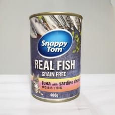 Snappy Tom Tuna With Sardine Chunk 400g (24can)
