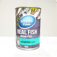 Snappy Tom Whole Fish 400g (24 Cans)