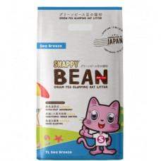 Snappy Bean Green Pea Cat Litter Sea Breeze 7L (3 Packs)