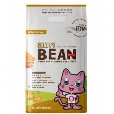 Snappy Bean Green Pea Cat Litter Wild Honey 7L (3 Packs)