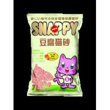 Snappy Cat Tofu Cat Litter Peach  7L (6 Packs)