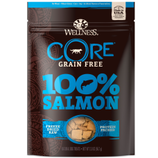 Wellness Dog Core Freeze Dried Treats 100% Salmon 2oz