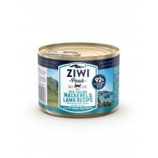 ZiwiPeak Cat Mackerel Lamb 185g (12can )