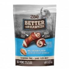 Zoë Better Than Rawhide BBQ Chicken Flavor 10 Mini Bones 234g