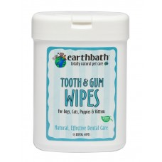 Earthbath Wipes Tooth & Gum Dental Wipe 25's