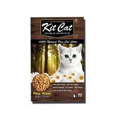 Kit Cat 100% Natural Pine Cat Litter 20Lb