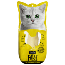 Kit Cat Fillet Fresh Chicken & Fiber (Hairball) 30g