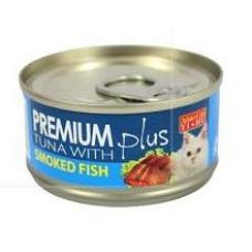 Aristo Cats Premium Plus Tuna with Smoked Fish 80g (24 Cans)