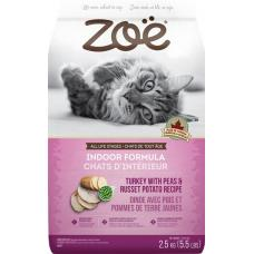 Zoe Cat Indoor Formula Turkey with Peas & Russet Potato 2.5kg