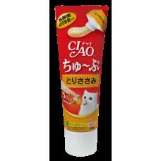 Ciao Chu ru Tube Chicken Fillet 80g (3 Pcs)