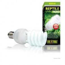 ExoTerra Reptile UVB100 Tropical Terrarium Bulb - 25W PT2187